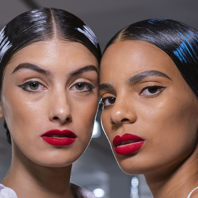 Painted Hair Is Officially A Thing Thanks To Moschino And Matty Bovan SS20