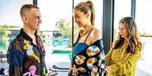 Moschino X H&M, Gigi Hadid, sneak peek, Jeremy Scott, Ann-sofie Johansson