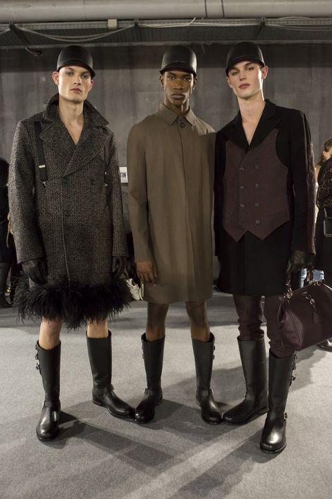 Fashion, Snapshot, Footwear, Human, Outerwear, Fashion design, Street fashion, Riding boot, Boot, Style,