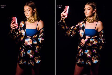 Gigi Hadid Moschino H&M