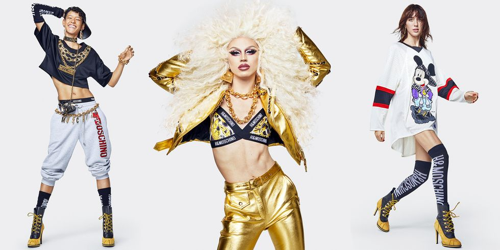 See Every Look in the Moschino x H&M Collection