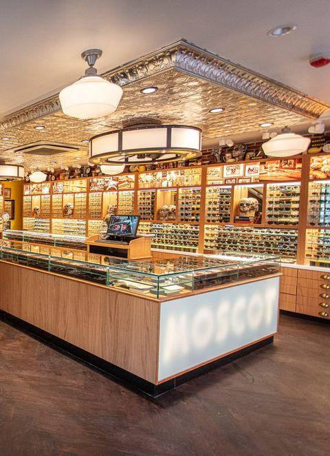 Building, Display case, Interior design, Architecture, Bakery, Flooring, Ceiling,