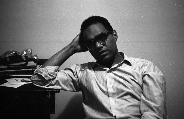 portrait of american civil rights activist robert parris moses, new york, 1964 photo by robert elfstromvillon filmsgety images
