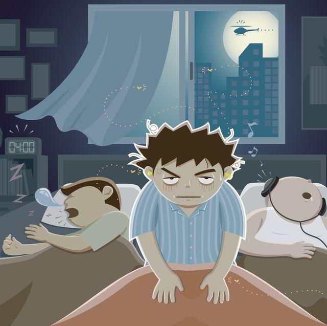 Mosquitos en la cama