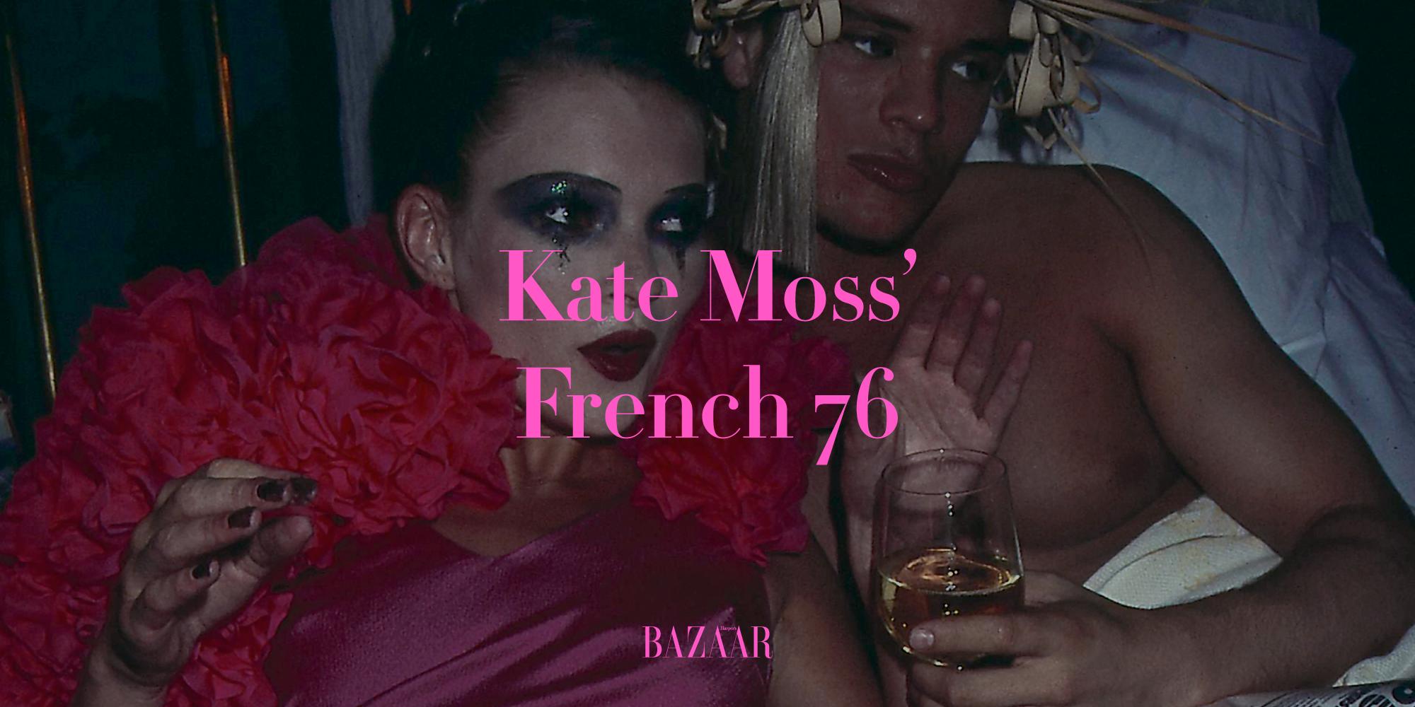La ricetta del cocktail French 76 di Kate Moss