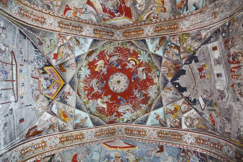 most beautiful ceiling designs badal mahal india veranda