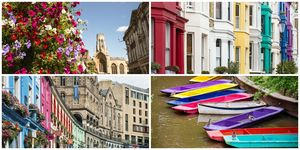 most colourful cities UK