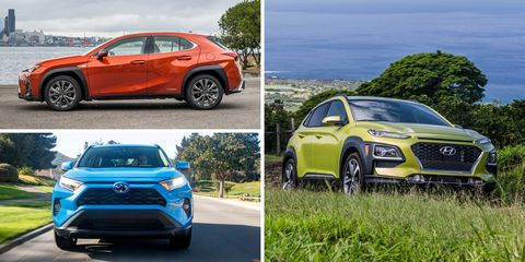 Most Efficient Non Hybrid Crossovers And Suvs