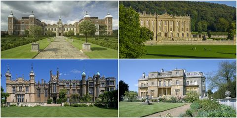 Most-filmed country houses in England