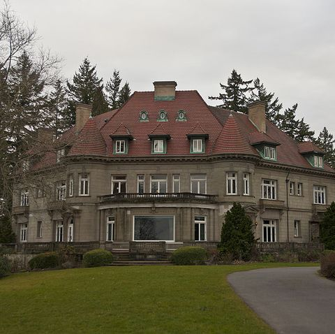most haunted places pittock mansion