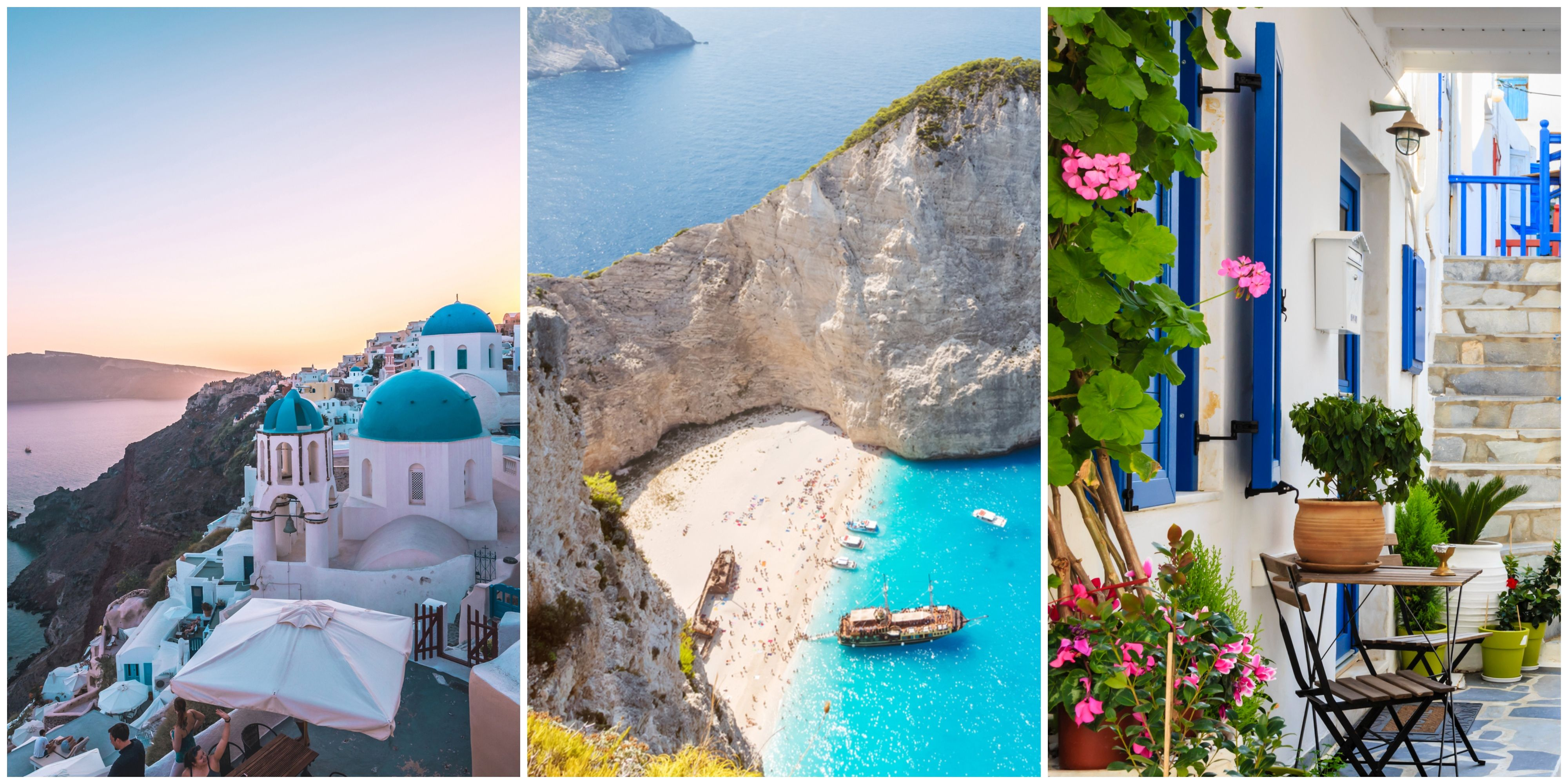 Most Instagrammed Greek islands