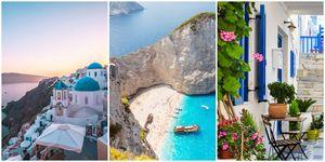 Most Instagrammed Greek islands