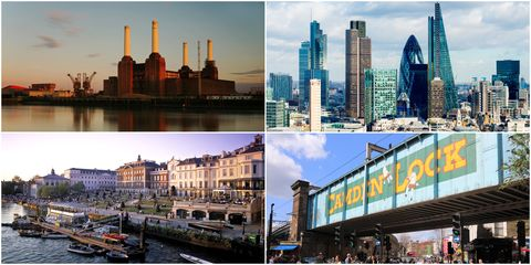 Most Instagrammed London boroughs