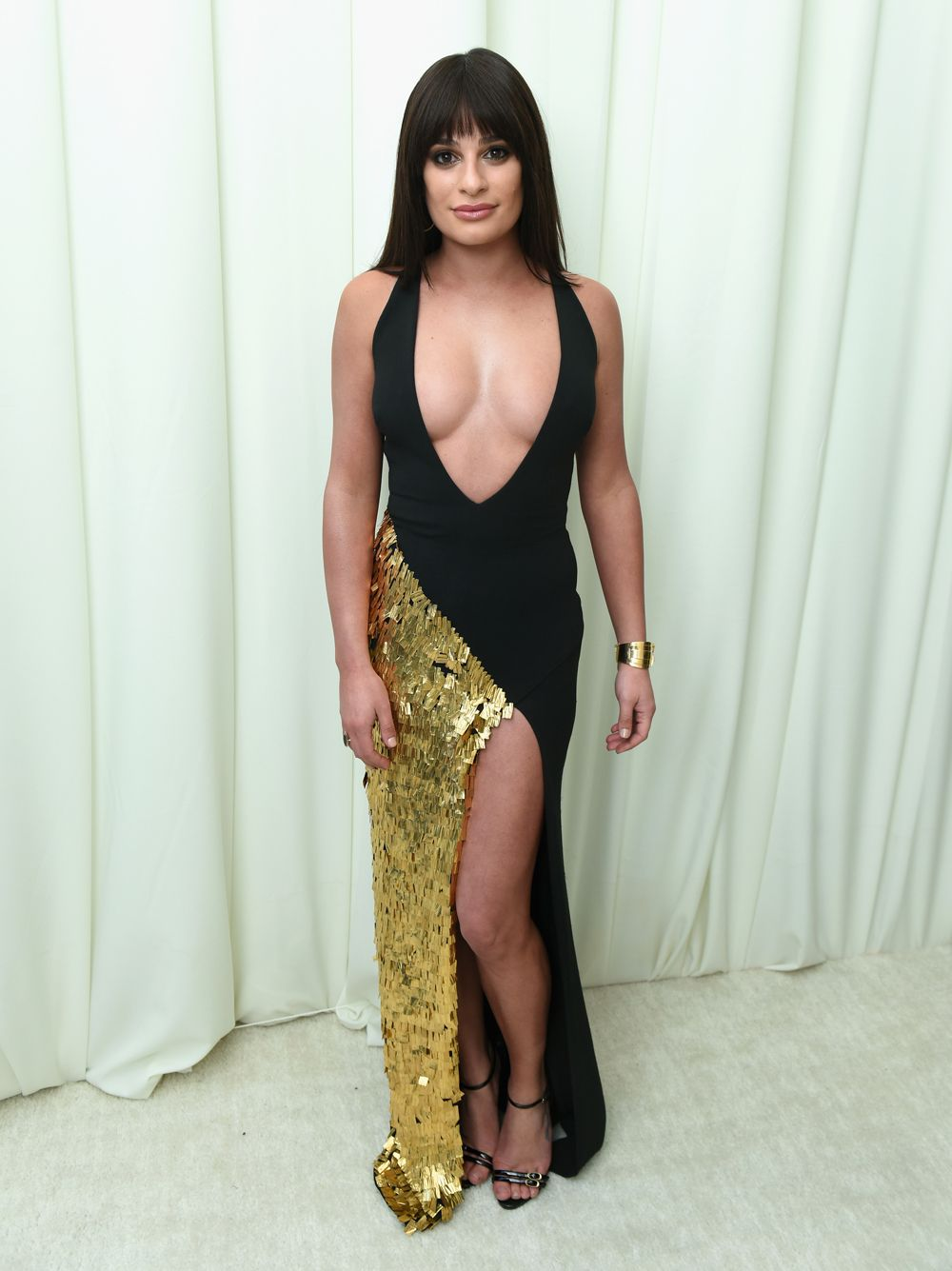 most naked celebrity dresses 2018