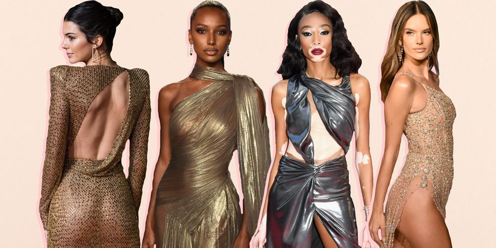 The 31 Most Naked Celebrity Dresses Of 2018-2574