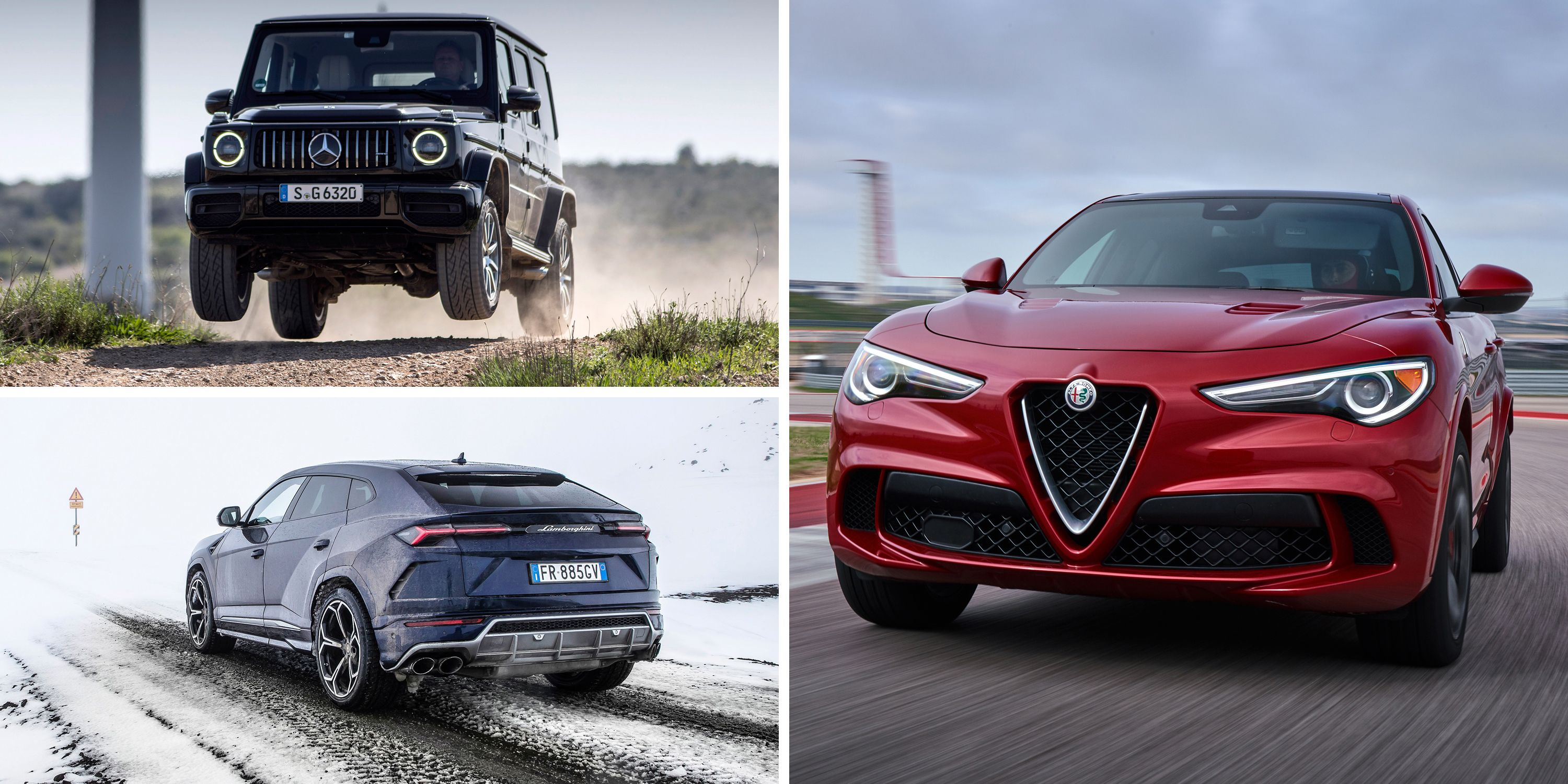 The Most Powerful Crossovers and SUVs You Can Buy