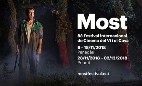Cartel del Festival Internacional de cine del Vino y el Cava