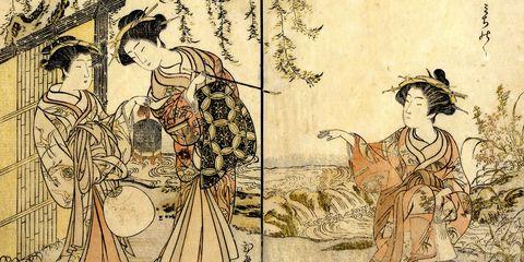 Art, Illustration, Drawing, Painting, Mythology, Visual arts, Fictional character,