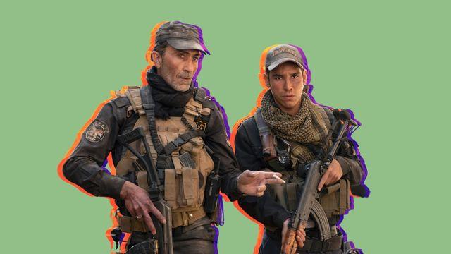 """suhail dabbach es el """"major jaseem"""" y adam bessa es """"kawa"""" en la producción de los hermanos russo para netflix mosul"""