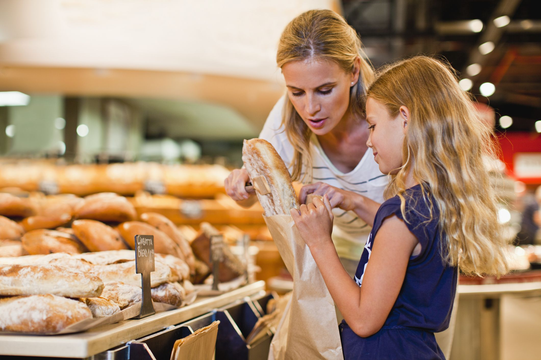 Go to the bakery section instead of the bread aisle.