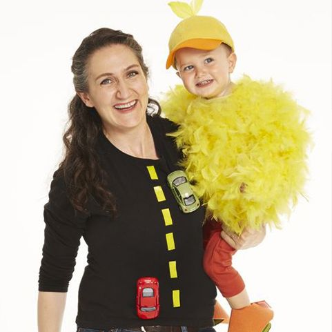 mother daughter costume