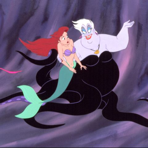mother daughter costumes - ursula and the little mermaid