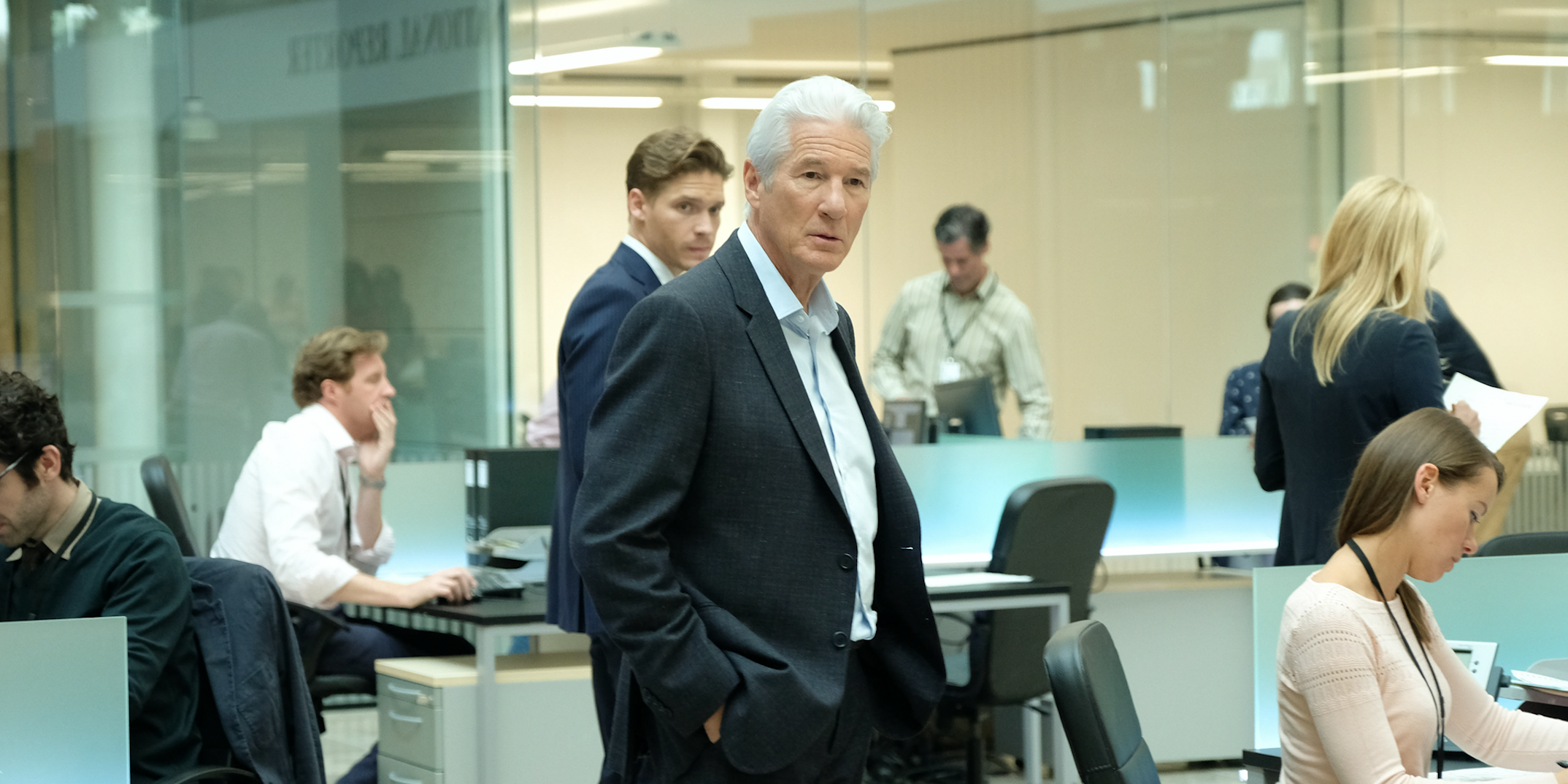 MotherFatherSon: Richard Gere (Embargoed for publication until 00:00:01 on Tuesday 26/02/2019)