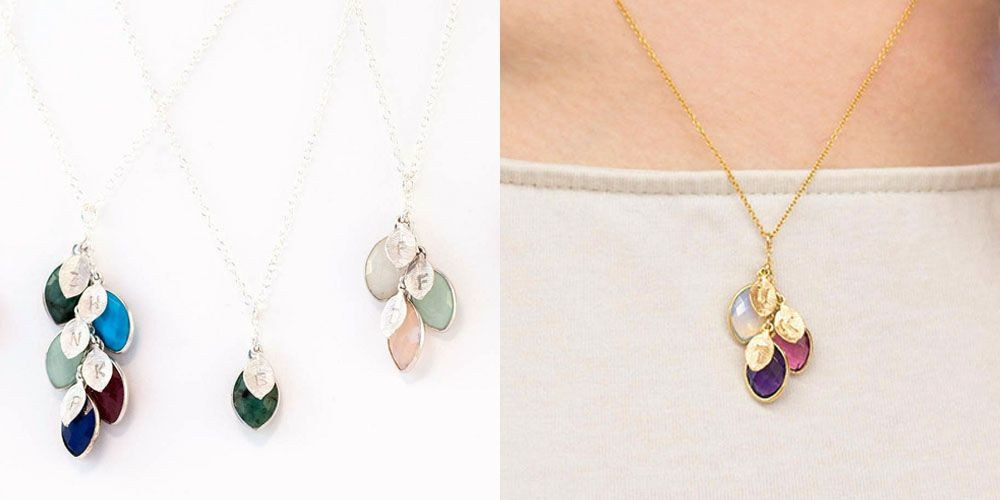 Turn Your Family Tree Into a Beautiful Birthstone Necklace for Mom or  Grandma