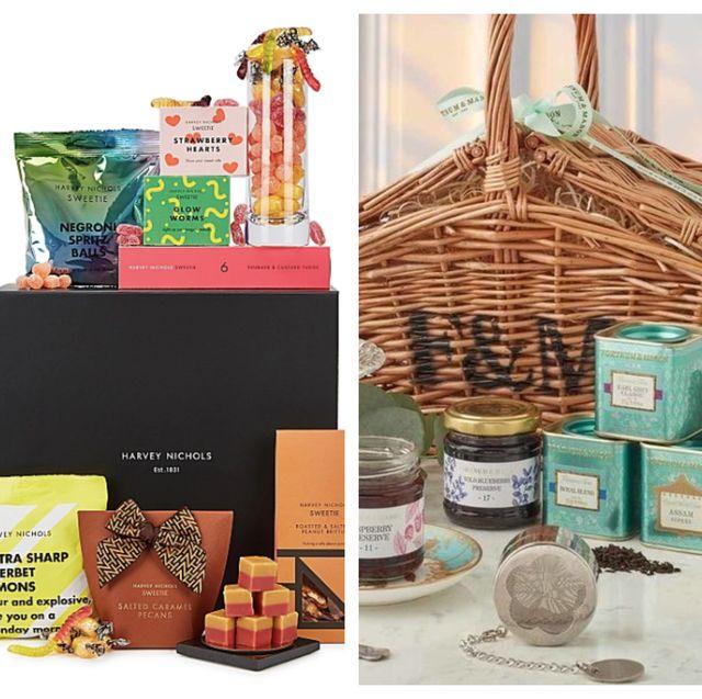 Hamper, Basket, Food group, Gift basket, Mishloach manot, Food, Present, Superfood, Home accessories, Ceremony,