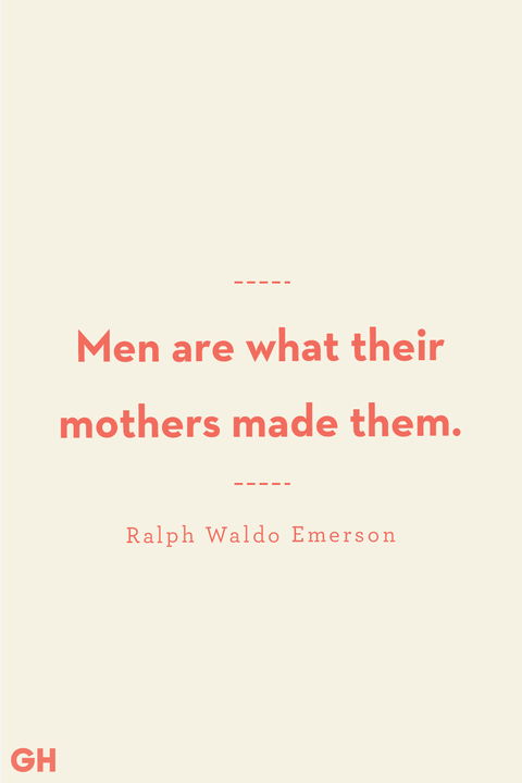 Mother Son Quotes Ralph Waldo Emerson