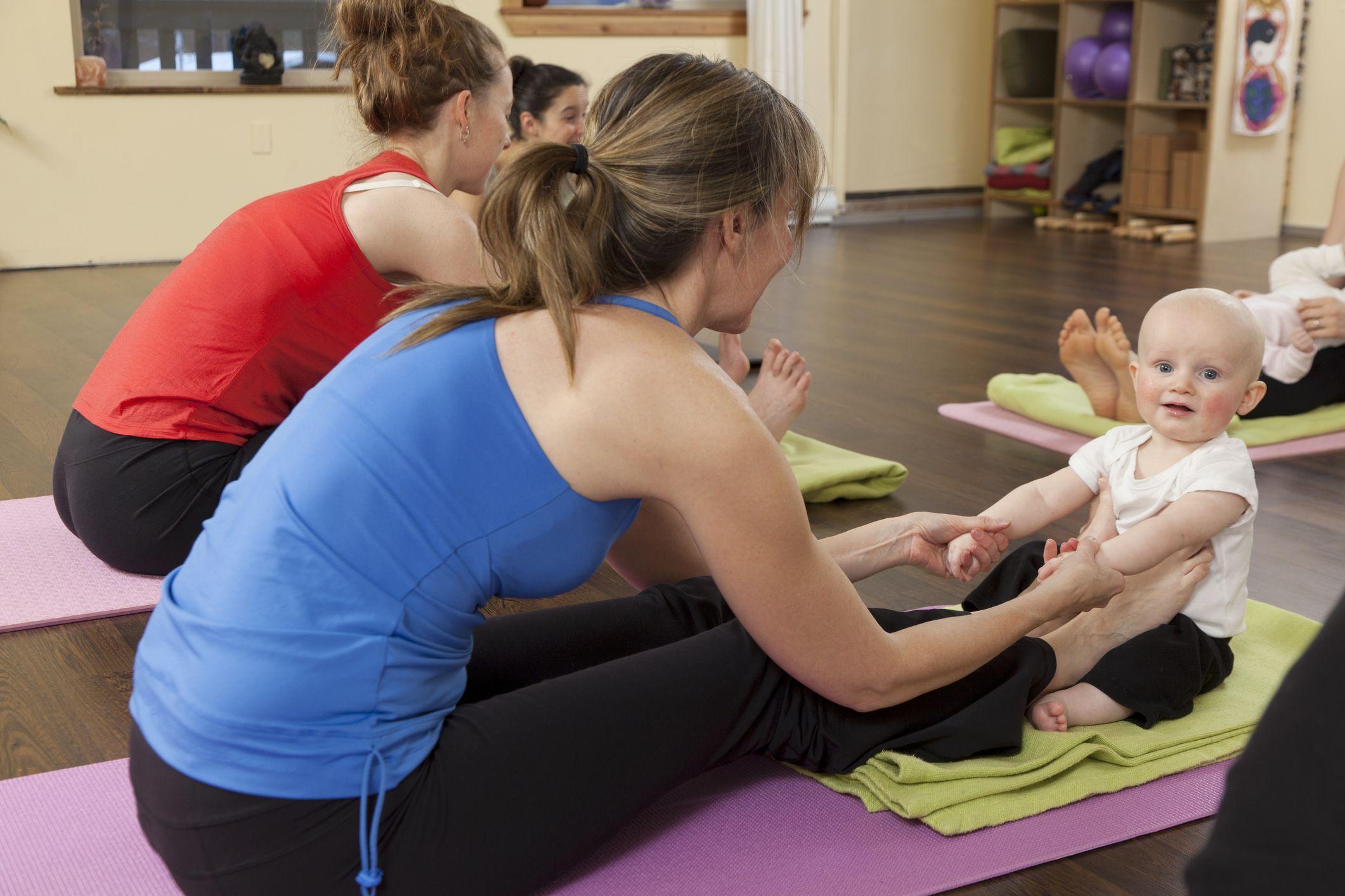 Madres y bebés ejercicio
