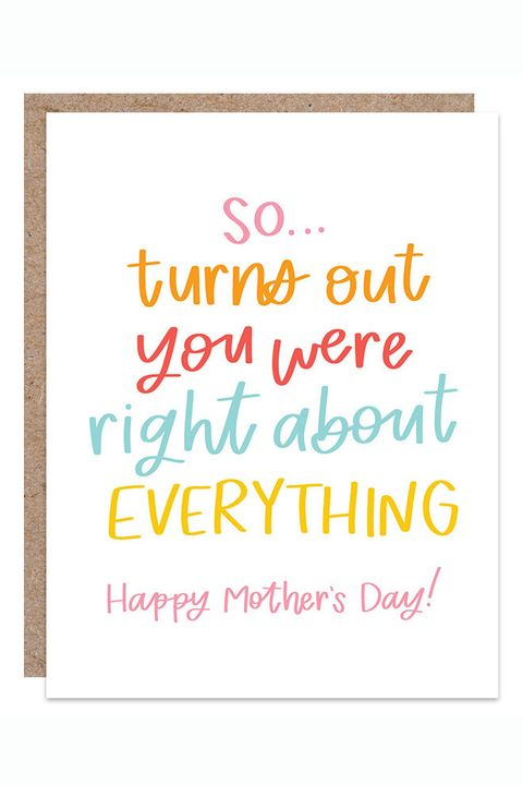 mothers day card funny