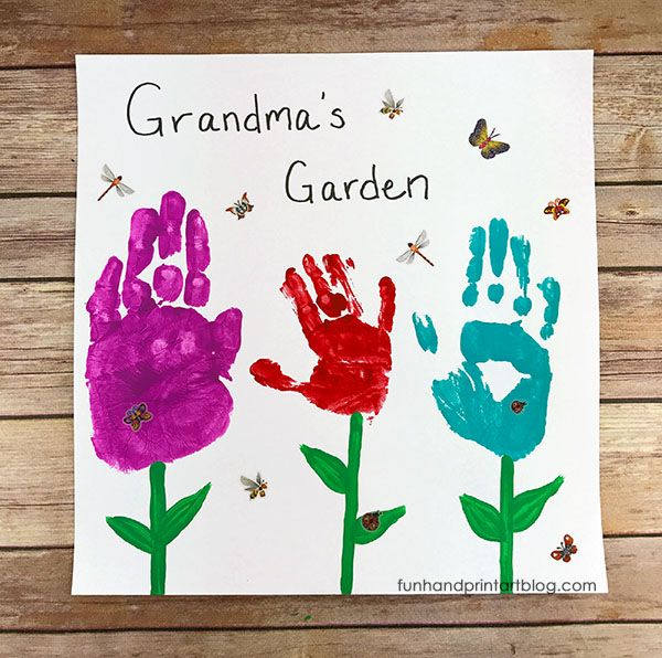 18 Best Mothers Day Gifts For Grandma Crafts You Can Make For Grandma