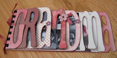 Mothers Day Crafts Grandma Photo Album