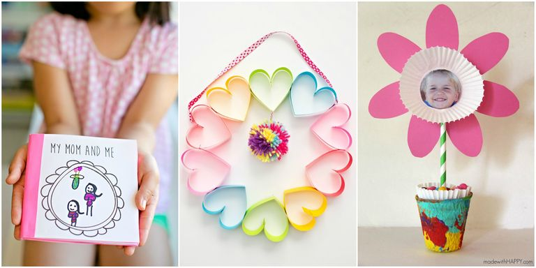 20 cute mother 39 s day crafts for kids preschool mothers for Things to do on mother s day at home