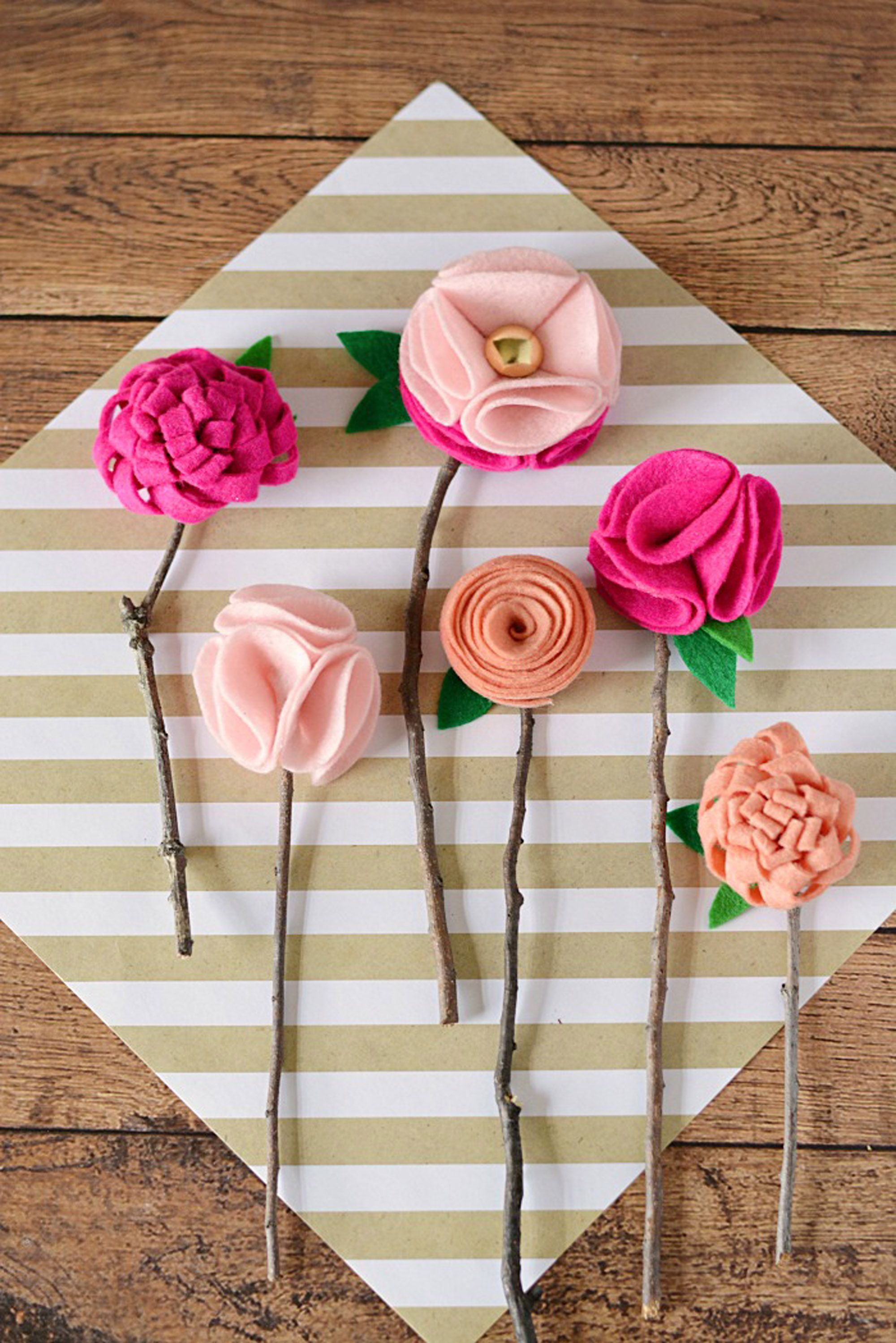 mothers day crafts kids flowers