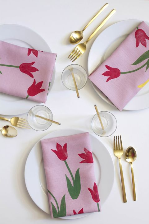 Mothers Day Crafts Napkins