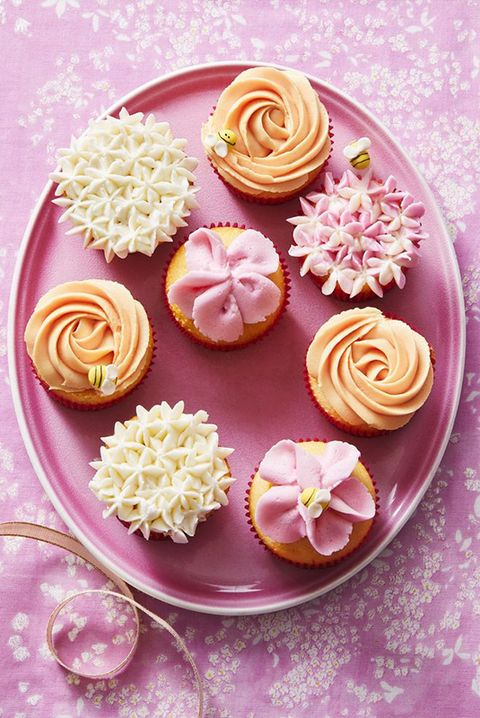 mothers day dessert flower cupcakes