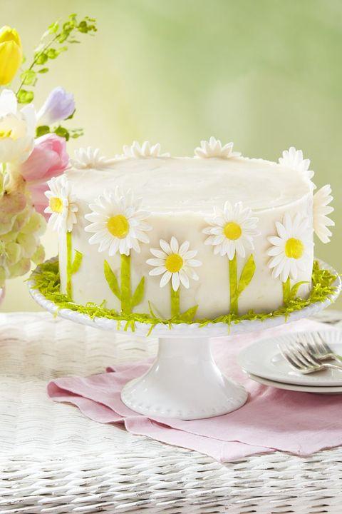 mothers day desserts lemon daisy cake