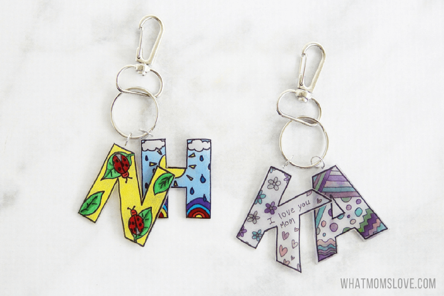 mothers day gifts todder keychain
