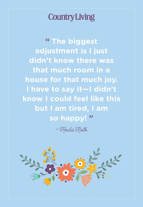quote about motherhood from hoda kotb