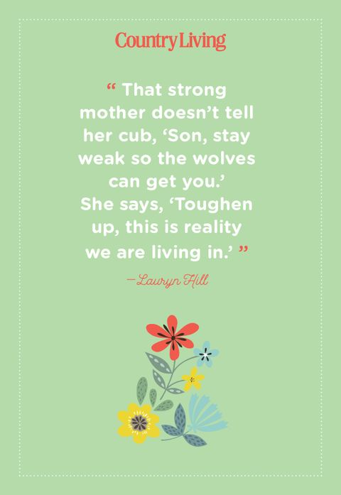 quote about being a mother from lauryn hill