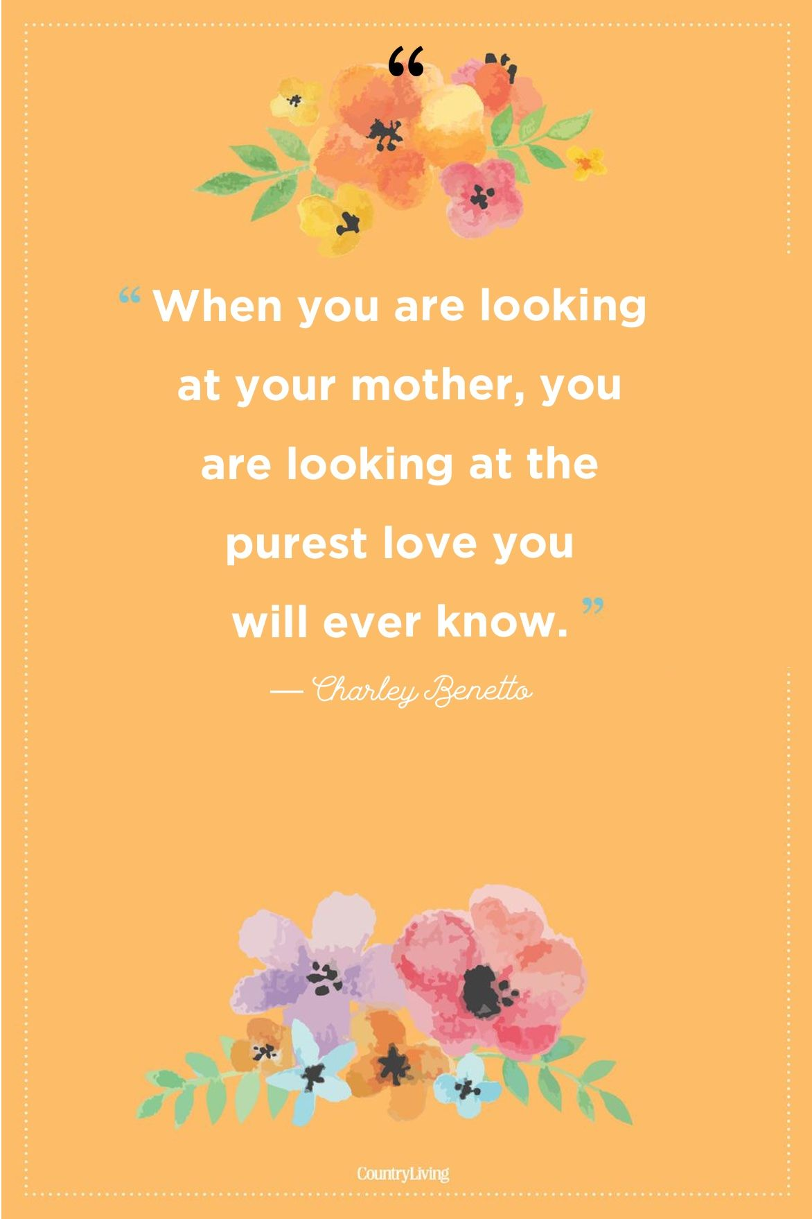 mothers day quotes purest love