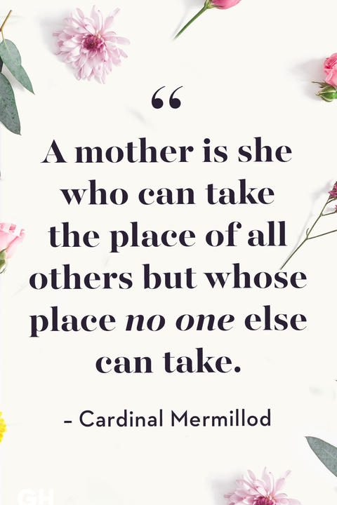 Mother's Day Quotes Cardinal Mermillod