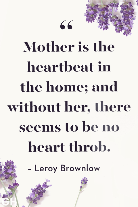 Mother's Day Quotes Leroy Brownlow