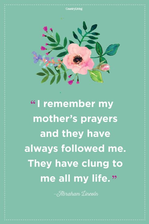 mothers day quotesAbraham Lincoln