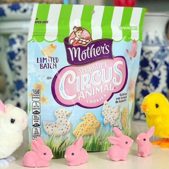 mother's springtime circus animal cookies