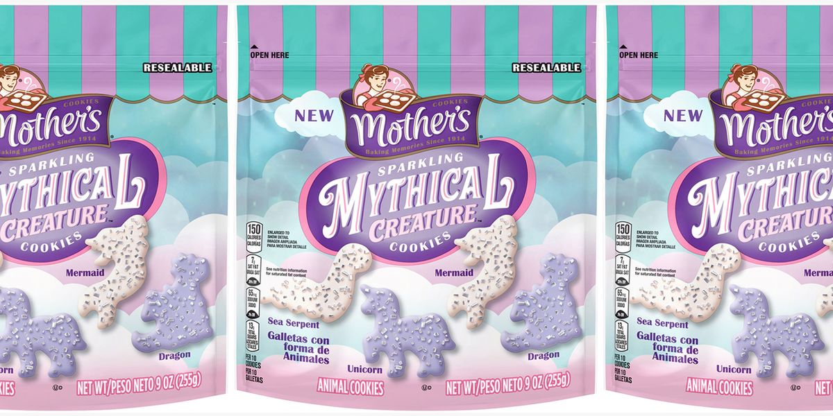 Mother's Cookies Has a New Sparkling Mythical Creature Variety Hitting Shelves Now