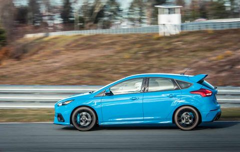 ford focus rs manual transmission