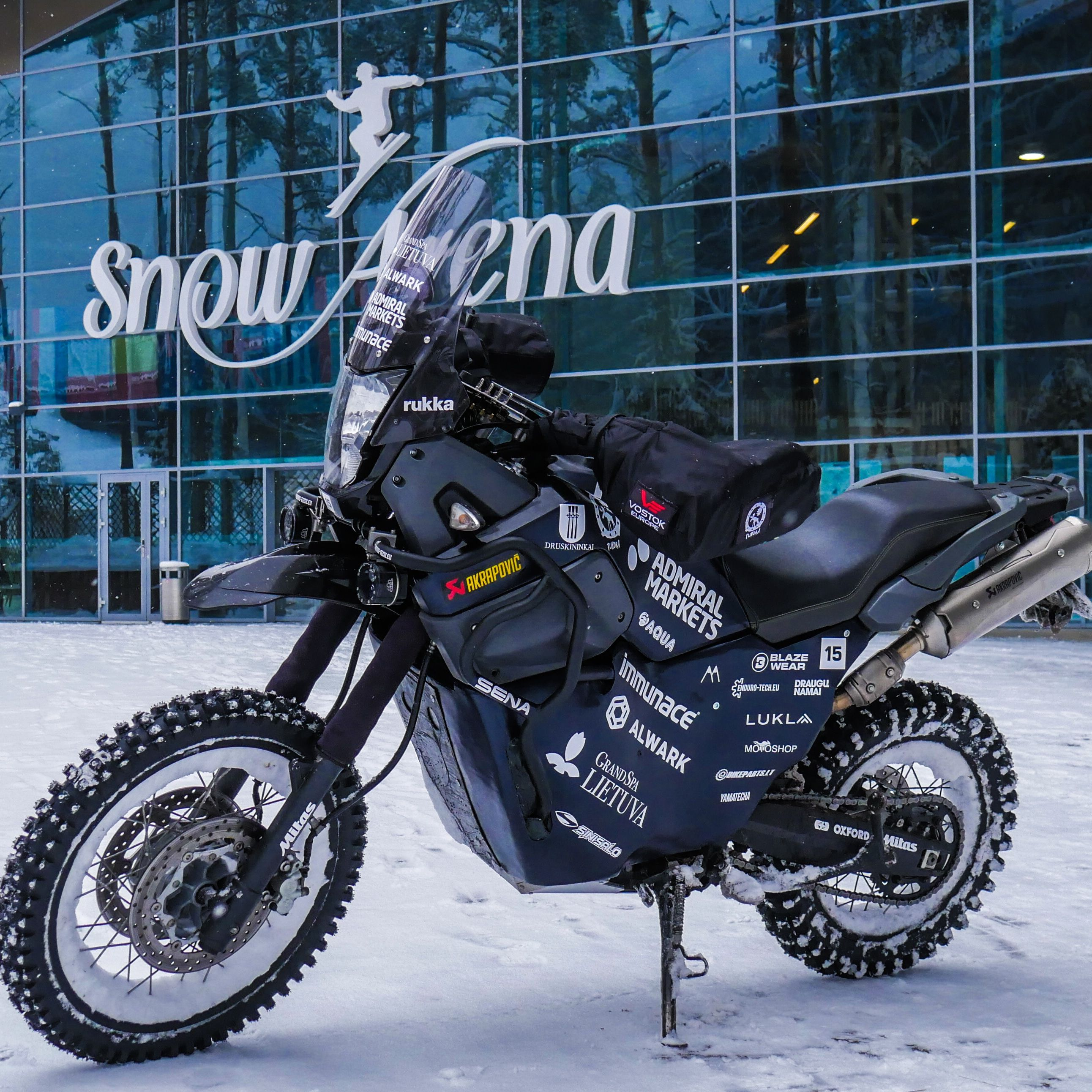 This Man Is Riding a Motorcycle Across Siberia to the Coldest